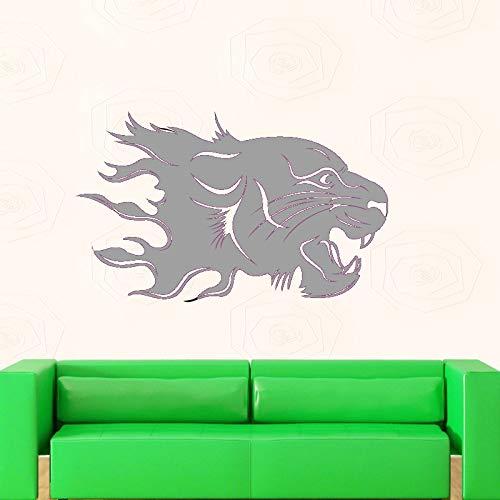 Jaguar Wandaufkleber Tiger Applique Poster Vinyl Wandkunst Applique Auto Aufkleber Dekorative Wandbild