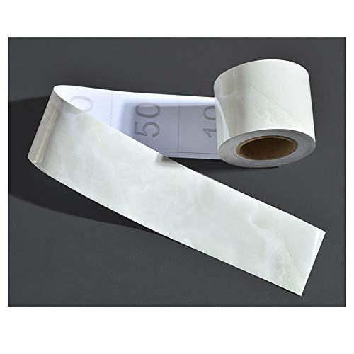 HJSGXXN Battiscopa, 5m PVC Flessibile Battiscopa, Adesivi Impermeabili Autoadesivi, Soglia, Bordatura di Piastrelle, Adesivi Resistenti all'Usura (Color : 1014, Size : 10cm)