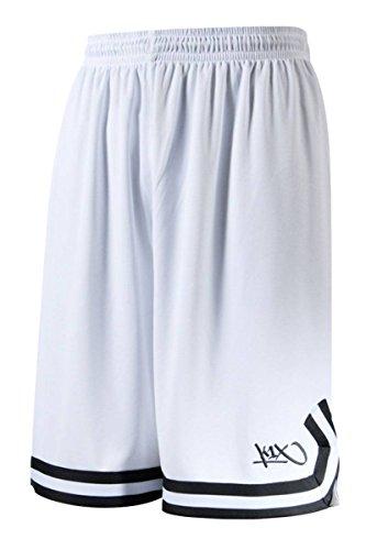 K1X Hardwood Double X Shorts, White/Anthracite, XXS