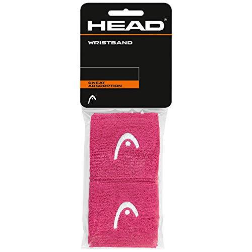 """Head Polsino da 2.5"""", Tennis Accessori Unisex Adulto, Pink, One Size"""
