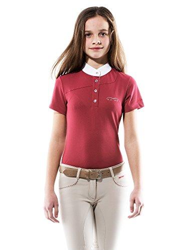 Animo Kinder Turniershirt Girl\'s Brox, Farbe Peonia, Gr. 9 Jahre *NEU*