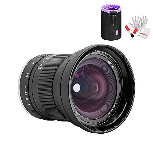 Zonlai 14mm F2 APS-C Extrem weitwinklig Objektive für Canon EOS-M Mount Kamera