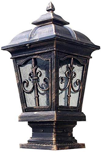 IP55 Tradicional decoración tradicional linterna linterna linterna comunidad valla barra terraza vía pública linterna luminosa brillante jardín lámpara E27