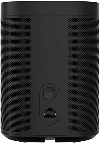 Sonos One (Gen 2) - Voice Controlled Smart Speaker with Amazon Alexa Built-in - Black (ONEG2US1BLK)