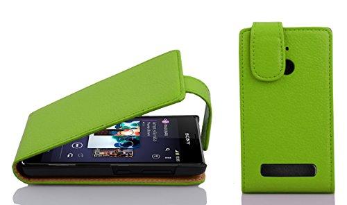 Cadorabo - Funda para Sony Xperia E1, Color Verde Manzana