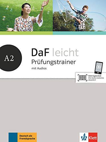 DaF leicht A2: Prüfungstrainer mit Audios (DaF leicht: Deutsch als Fremdsprache für Erwachsene)