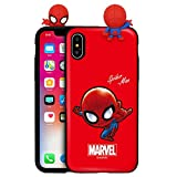Marvel Avengers Coque pour Apple iPhone Series iPhone XS Max Spider Man