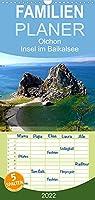 Olchon - Insel im Baikalsee - Familienplaner hoch (Wandkalender 2022 , 21 cm x 45 cm, hoch): Im oestlichen Sibirien liegt der tiefste Suesswassersee der Erde: der Baikal. Mittendrin Olchon als groesste Insel und beliebtes Reiseziel. (Monatskalender, 14 Seiten )