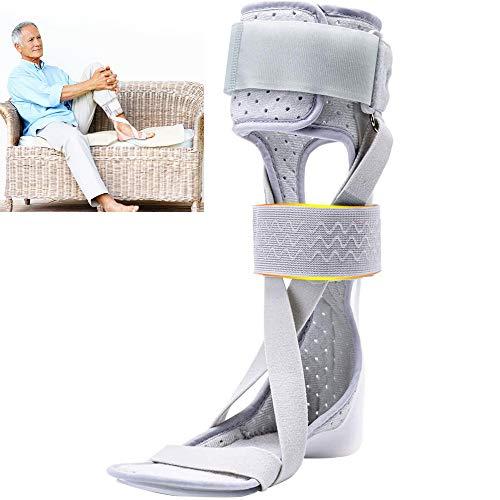 GHzzY Soporte para el Tobillo - Ortesis para la caída del pie AFO - Férula para la corrección del Tobillo para el Tratamiento de la Fascitis Plantar Tendinitis de Aquiles y caída del pie,Right