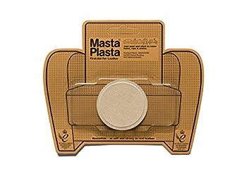 MastaPlasta Self-Adhesive Premium Suede Repair Patch Small Circle Beige - 2 Inch - First-aid for Sofas car Seats & More