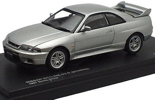 Envío 100% gratuito KYOSHO 1 43 Nissan Skyline GT-R R33 R33 R33 Late plata (Importaciones japonesas)  tiempo libre