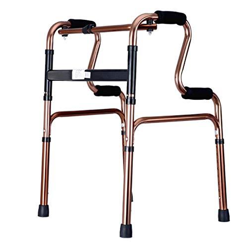 Aluminium Walker -Drive Medical Rollator Zusammenklappbar mit Rädern und Sitz Professional für Senioren, Behinderte, Senioren, max. 180 kg