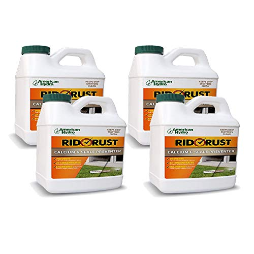 American Hydro Systems RRC Rid O' Calcium and Lime 2X Concentration Stain and Build Up Preventer, 1/2-Gallon Bottles, 4-Pack