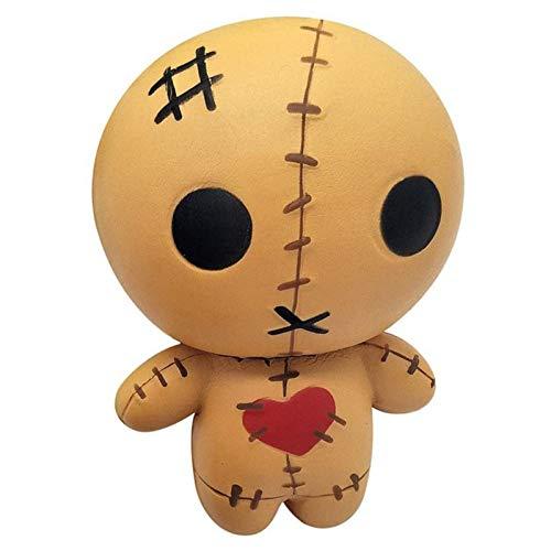 OrangeC 2pcs Horror Doll Squishies Toy Lentas Rising Ghosts Muñeca Rise Squishy Ghost Doll Lento Rising Squishy para Niños Adultos