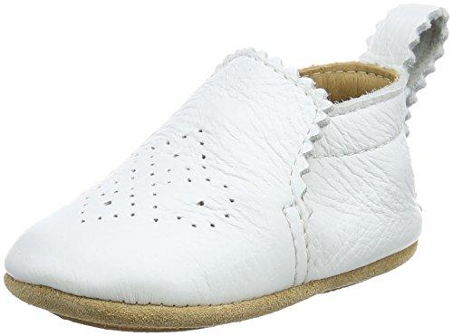 HAFLINGER Primus, Chaussons Mixte bébé, Blanc (Rohweiß), 19 EU