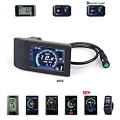 High-contrast 2.2 inch IPS colorful matrix screen. Function well at extreme low temperature, -20 °C 9-level Assist: 3-level / 5-level / 9-level optional. Mileage indicator: Odometer / Trip distance / Clock / Riding time. Power indicator: real time po...