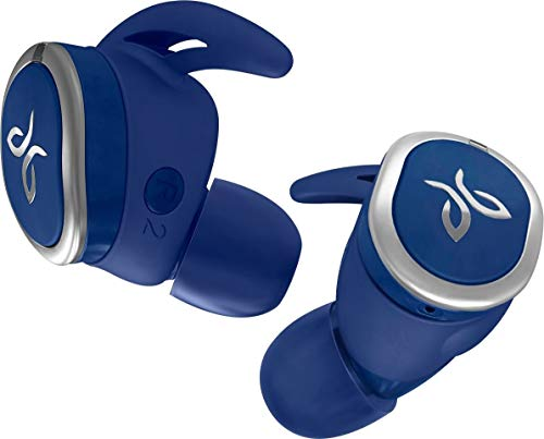 JAYBIRD RUN TRUE WIRELESS SPORT HEADPHONES BLUE STEEL (Renewed)