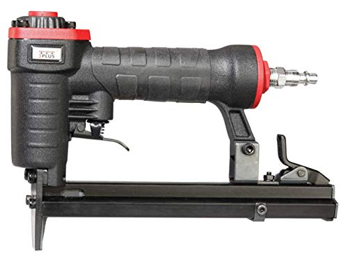 3PLUS H7116SP 22 Gauge 3/8-Inch Crown Pneumatic Upholstery Stapler for 71 Series Staples, 1/4-Inch to 5/8-Inch