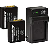 BM Premium 2 Pack of NP-W126S High Capacity Battery and Charger for Fujifilm FinePix X-T100, XT-200, X-100F, X-100V X-A7, X-H1, X-T10, X-T20, X-T30, X-A10 X-E1 X-E2 X-E2S X-E3 X-T1 X-T2 X-T3 Cameras