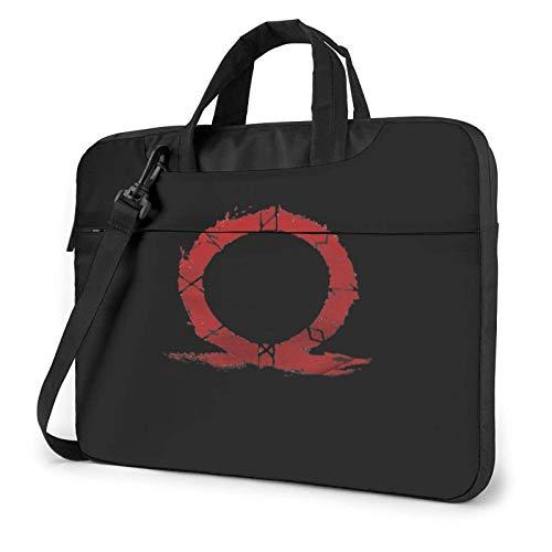 15.6 inch Laptop Shoulder Briefcase Messenger God of War Wwx Tablet Bussiness Carrying Handbag Case Sleeve