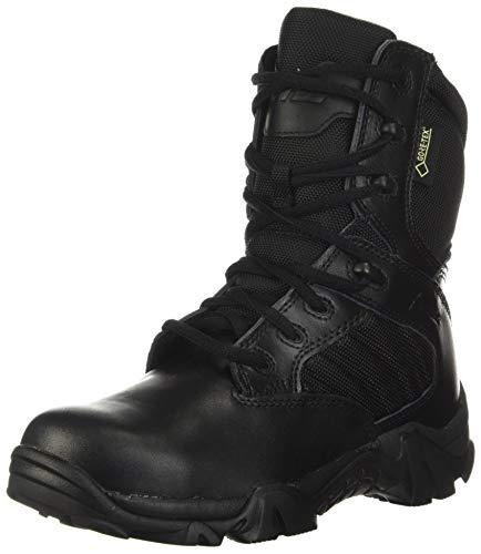 Bates Women's GX-8 Gore-Tex Waterproof Side Zip Boot, Black, 9 M US