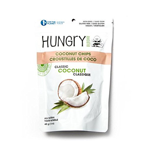 Hungry Buddha Coconut Chips Classic Coconut