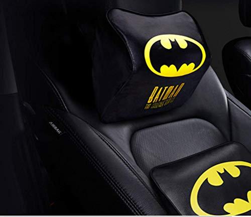 WEIGZ Automobil-Kopfstütze langsam Rebound Speicher Baumwolle Nackt-Kissen Automobil-Lieferungen,Batman