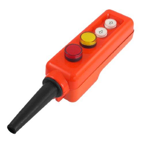 Rouge Jaune Lampe LED Palan haut-basstencils Station de contrôle à interrupteur 12 V