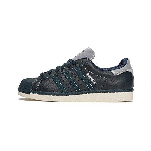 adidas Originals Superstar 80 del equipo universitario de la zapatilla de deporte de los hombres de la chaqueta azul B25565, Herren - Schuhe - Turnschuhe & Sneaker / 15709:42