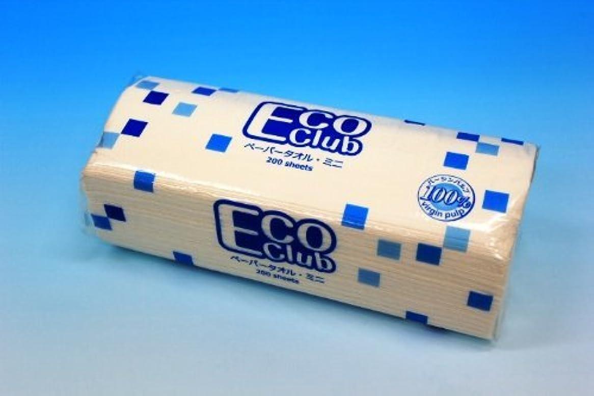 全員魚日常的にエコクラブペーパータオル ミニ (200枚入)