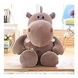 SMEJS Hipopótamo del Juguete Lindo Animal Relleno de la Felpa - Adorable hipopótamo Juguete Suave y Regalos - Presente Perfecto for los niños, bebés, niños - Hippi (Color : C, Size : 80cm)