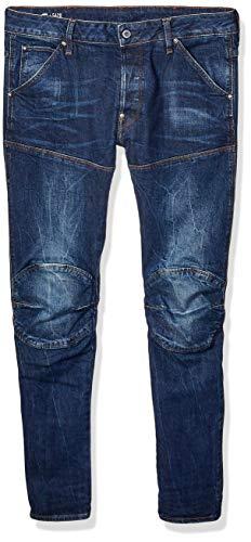 G-STAR RAW Herren 5620 3D Jeans, Blau (Vintage Dark Aged), 29/30