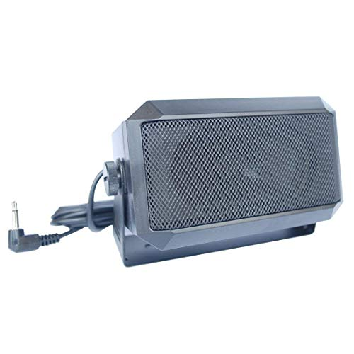 VECTORCOM TRD550 Rectangular 3.5mm Plug 5W External Speaker/CB Speaker...