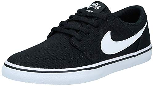 Nike - Skateboardschuhe in Schwarz Black White 010, Größe 44 EU