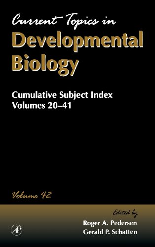 Cumulative Subject Index (Volume 42) (Current Topics in Developmental Biology (Volume 42))
