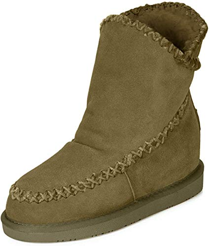 Gioseppo 42114, Botas Slouch Mujer, Beige (Taupe), 38 EU