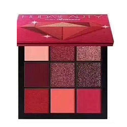 YXDS 9 Farbe Lidschatten Palette Erde Perlmutt Kombination Diamant Kosmetik Set Augen Make-up Beauty-Produkte Multicolor