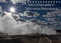 Naturschauspiele im Yellowstone Nationalpark (Tischkalender 2022 DIN A5 quer): Yellowstone Nationalpark (Monatskalender, 14 Seiten )