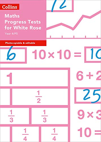 Year 4/P5 Maths Progress Tests for White Rose (Collins Tests & Assessment)