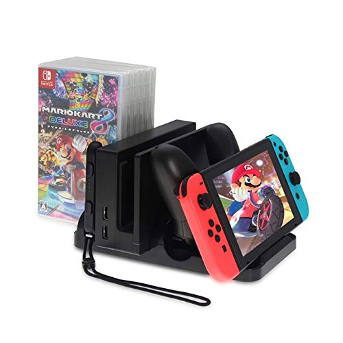 Base Suporte Multifuncional Nintendo Switch Dock Carregador Dobe