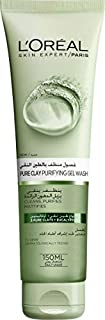 L'Oreal Paris Pure Clay Green Face Cleanser with Eucalyptus Purifies and Matifies, 150ml