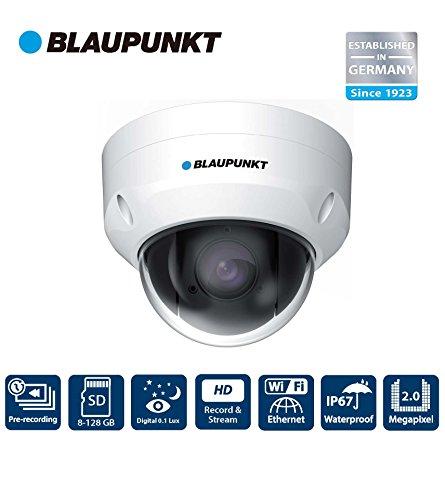 Blaupunkt VIO-DP20 Cámara IP exterior, Zoom óptico 4X, enfoque automático, visión nocturna digital (DWDR), WIFI, PTZ y compatibilidad ONVIF.
