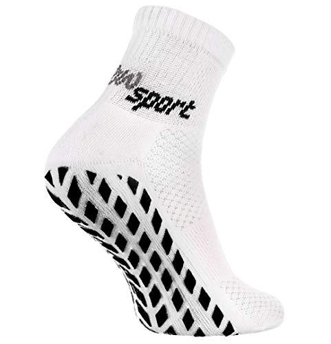 Rainbow Socks - Hombre Mujer Calcetines Antideslizantes de Deporte - 1 Par...