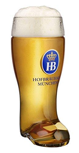 HB Hofbräuhaus München Jarra de Cerveza Alemana Múnich Hofbräuhaus München HB 1 litro King Werk KI 1000173