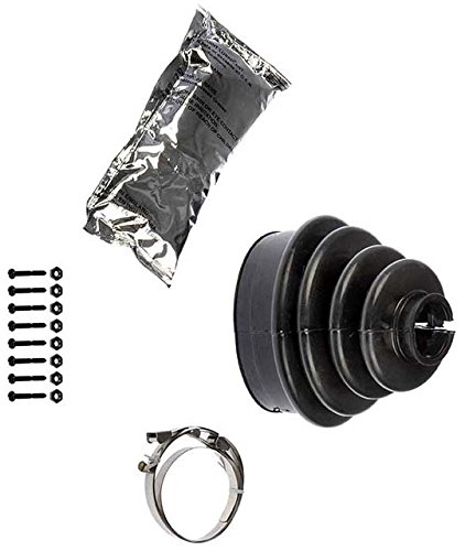 APDTY 14710 Front Outer C.V. Joint Bolted Split Boot Kit Fits Selct 88-08 Cadillac, Chevrolet, GMC Trucks (Match vehicle To Compatibility Chart To Ensure Exact Fitment; Replaces 26018968, 26020729)