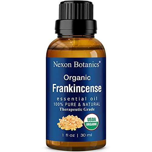 Organic Frankincense Essential Oil 30 ml - Boswellia Serrata - Pure,...