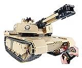 RSWLY Technics Tank RC Model Kits, 1276 Piezas WW2 Control Militar Military Tank Tank Construction Set para niños y Adultos, Bloques de construcción compatibles con la técnica Lego