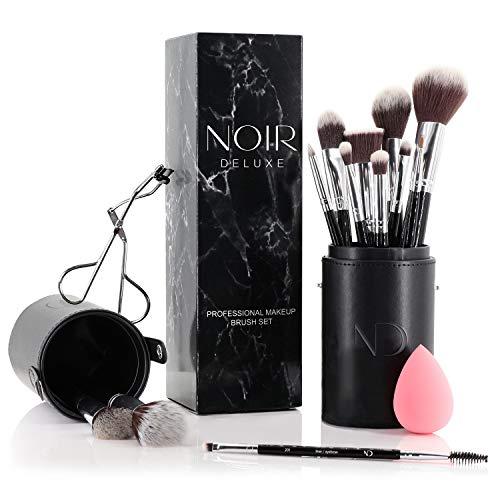 Juego de pinceles y brochas de maquillaje de Noir Deluxe