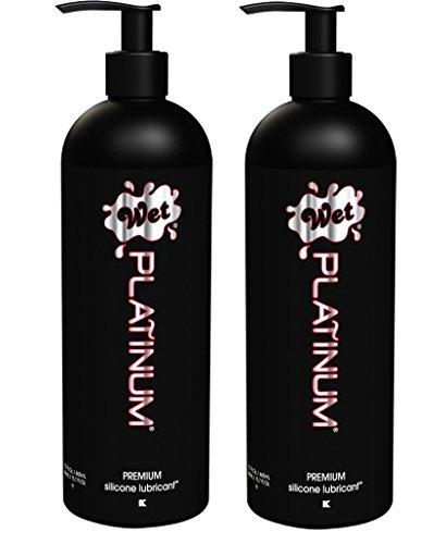 Wet Platinum Premium Lubricant 15.7oz/445g (Set of 2)