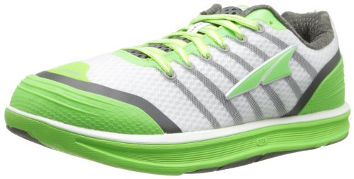 Altra Women's Intuition 2 Running Shoe,White/Green,6.5 M US